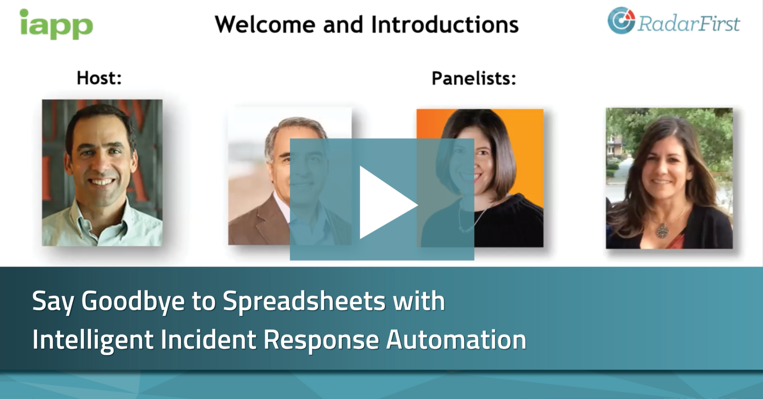 spreadsheets and intelligent incident response automation | radarfirst